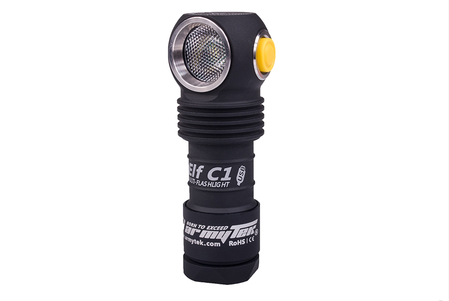 Armytek Elf C1 XP-L Micro-USB (White/Warm) + 18350 Li-Ion