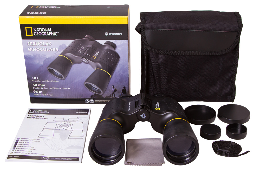 Bresser National Geographic 10x50 Binoculars