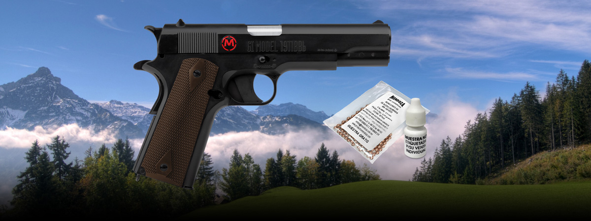 CO2 Handgun MC40021 cal.0.177""