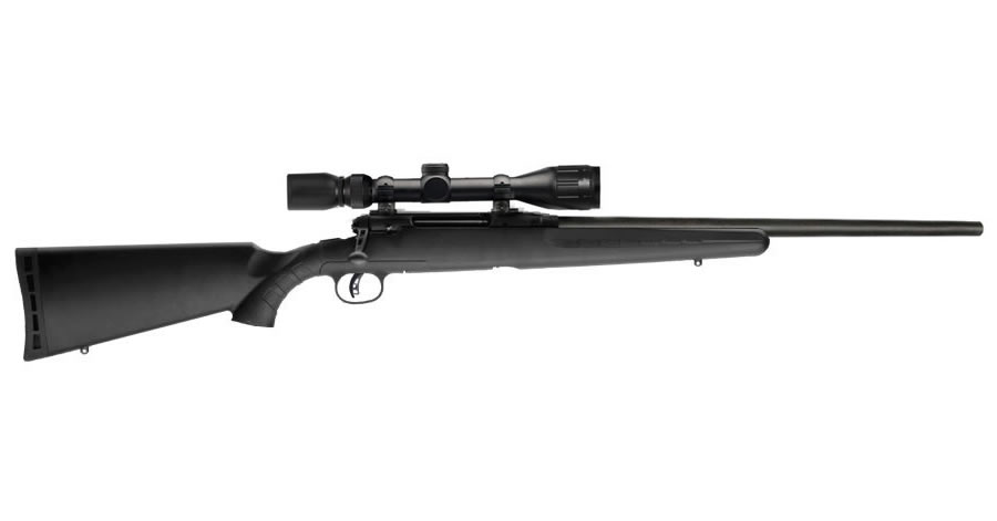 Savage Axis II XP 6.5 Creedmoor Bolt-Action Rifle with 4-12x40mm Scope and Heavy Barrel