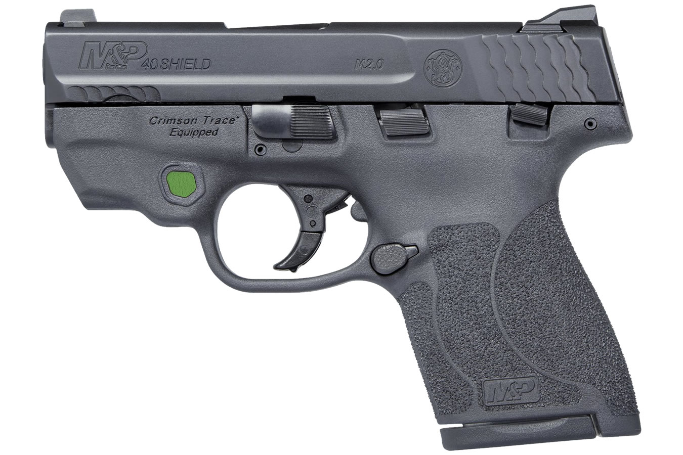 S&W MP40 Shield M2.0 Green Crimson Trace Laser Thumb Safety.