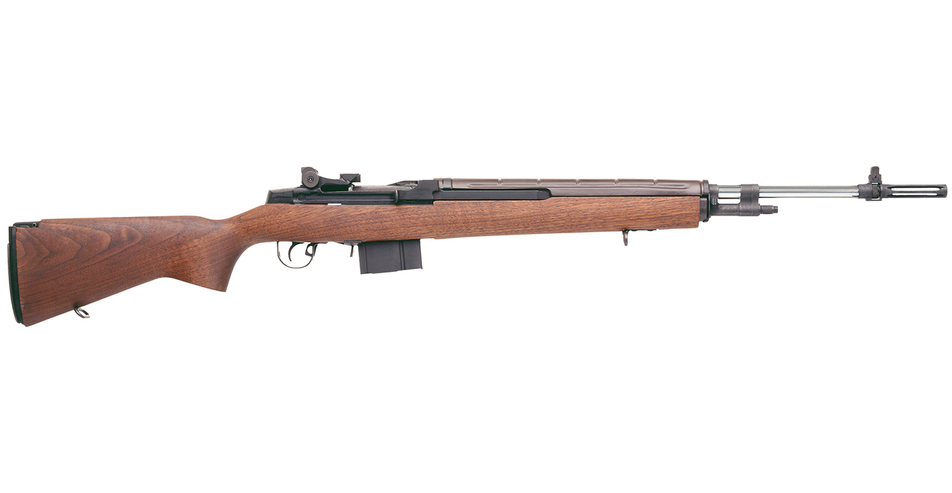Springfield M1A Super Match 308 with Oversized Walnut Stock and Douglas Heavy Match Stainless Barrel