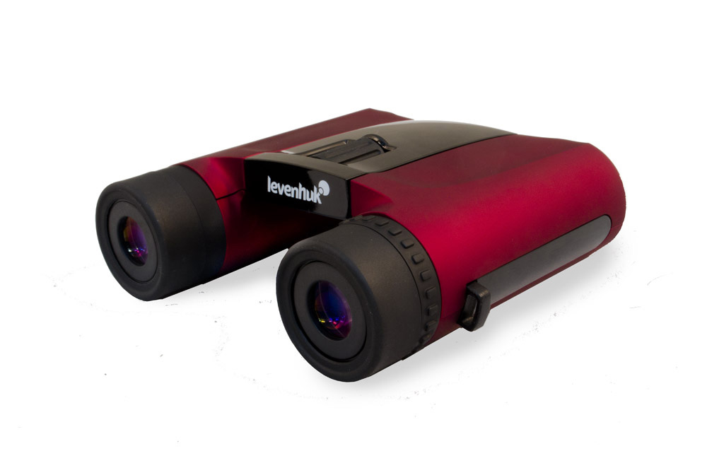 Levenhuk Rainbow 8x25 Red Berry Binoculars