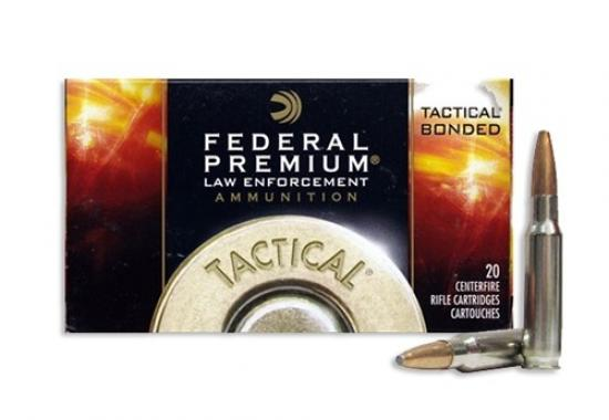 200 RD CASE FEDERAL TACTICAL BONDED (MODEL# LE308T1) 165GR .308