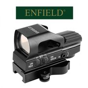 ENFIELD® 1X22X33 RED/GREEN DOT SIGHT WITH QUICK DETACH WEAVER MOUNTING SYSTEM