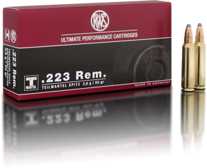 AMMO .223 REM 56GR TMS - POINTED SOFT POINT