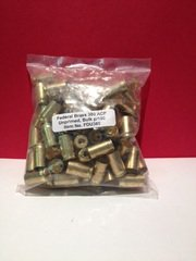 Federal .380 Auto Unprimed Brass (100 rnd)