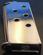 FN CHROME PLATED STEEL MAGAZINE