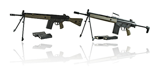 AUTOMATIC RIFLE G3A3 & G3P4