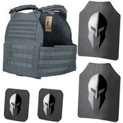 SPARTAN ARMOR SYSTEMS AR500 AND LEGION XL PLATE CARRIER PACKAGE