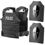 SPARTAN™ OMEGA™ AR500 BODY ARMOR ACTIVE SHOOTER KIT / POLICE TACTICAL GEAR