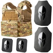 SPARTAN ARMOR SYSTEMS AR550 LEONIDAS PLATE CARRIER PACKAGE