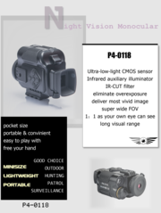TR P4-0118 Digital Night Vision Monocular