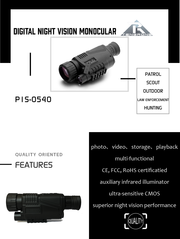 TR P1S-0540 Digital Night Vision Monocular