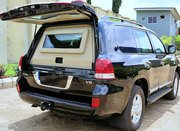 Armoured Toyota Land Cruiser