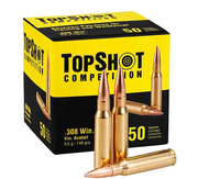 TOPSHOT COMPETITION .308 WIN. FMJ 148 GRS.