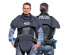 Bulletproof Collar and Abdomen Protective Collar