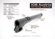 IGB Polygon Threaded Barrel