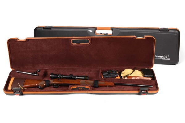 Negrini Deluxe Compact Scoped Bolt Action Rifle Case