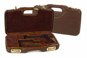 Model 1911 Leather/Faux Wood Gun Case