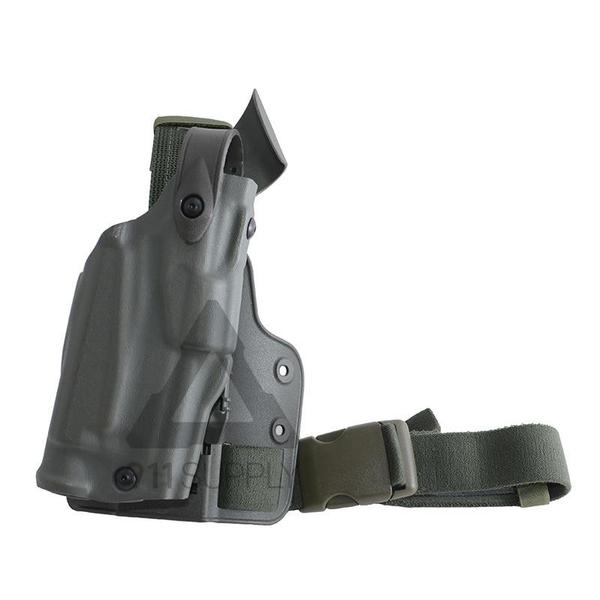 SAFARILAND 6304 ALS/SLS DROP-RIG TACTICAL HOLSTER - P226R W/LIGHT