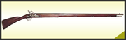Replica of 1690's french marine musket Steel.