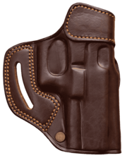KIRO Reholster Gen 2 OWB Double Leather With Reinforced Opening Holster