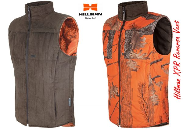 Hillman XPR Vest is reversible