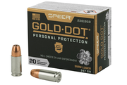 Speer Gold DOt 9mm 147 Gr Hollow Point 20 Round Box