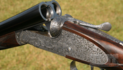 Boxall and Edmiston Sidelock Back Action Shotgun