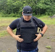 MASADA Bulletproof Backpack Front And Back Full Body Armor Converts To Bulletproof Vest (IIIA)