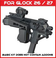 Micro Roni Glock 26&27 Stabilizer Gen 4X NEWEST PDW Conversion Kit