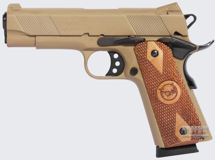 Iver Johnson Hawk Coyote Tan.