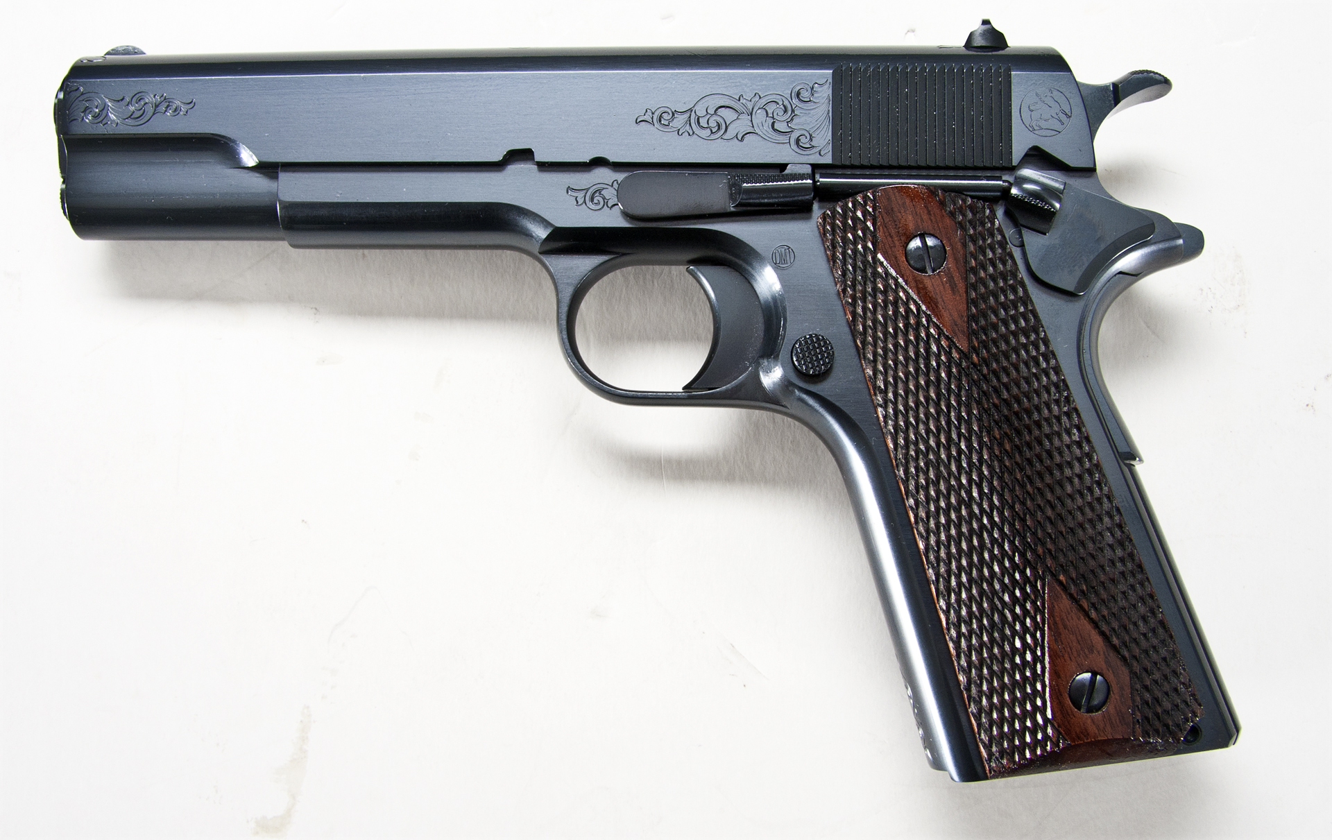 Turnbull Model 1911 B Coverage Engraving