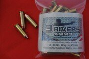 3Rivers Ammo 38SPL. 125gr PLATED RNFP