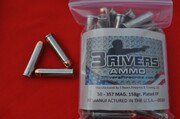 3Rivers Ammo 357 MAG. 158gr PLATED RNFP