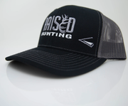 Raised Outdoors Black and Gray hats