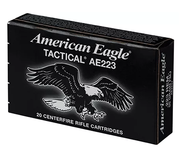 AE Tactical AE223 Centerfire Rifle Ammo w/Ammo Can