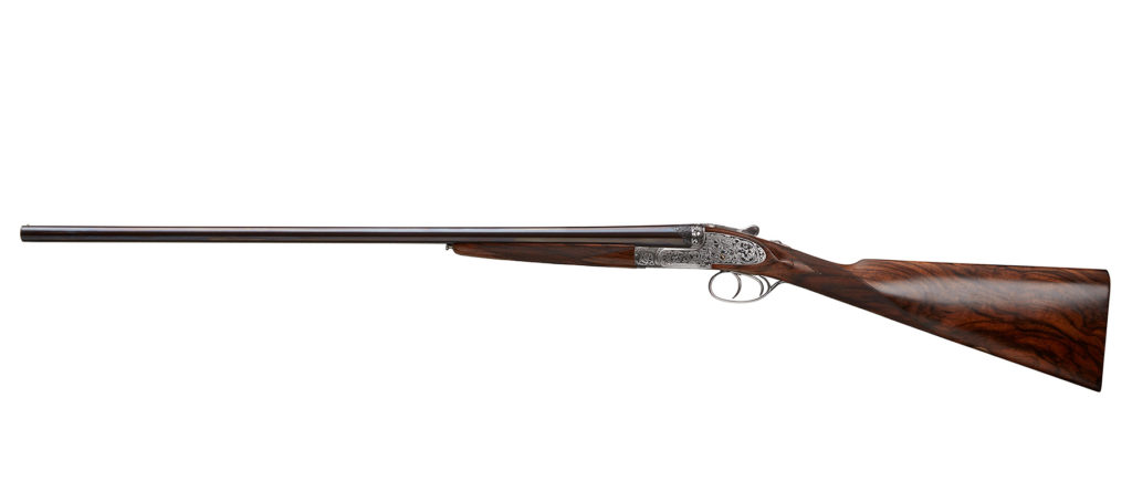 William & Son 28 Bore Self Opening Sidelock Ejector Gun