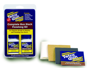 TETRA GUN STOCK FINISHING KIT