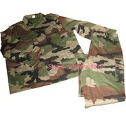 Camouflage Army Uniform BDU