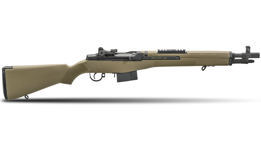 Springfield M1A Socom 16 308 with FDE Composite Stock