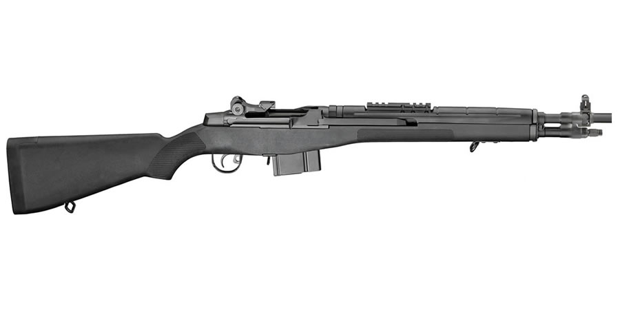 Springfield M1A Scout Squad 308 with Black Synthetic Stock (NY Compliant)