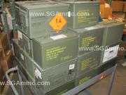 12 Pack of Emptied Used 50 Cal M2A1 Type Ammo cans - Mixed Condition